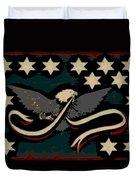 Whiskey Rebellion Flag Duvet Cover