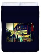 Whisky A Go Go Bar On Sunset Boulevard Duvet Cover