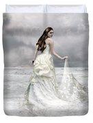 Whispered Waves Duvet Cover