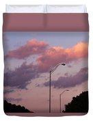 Whispers Of Sunset Duvet Cover