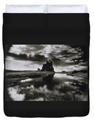 Whitby Abbey Duvet Cover by Simon Marsden