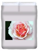 White And Pink Duvet Cover