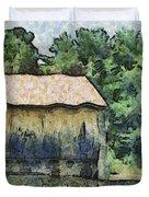 White Bear Farm Duvet Cover