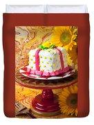 White Cake Duvet Cover