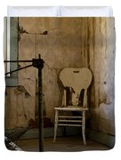 White Chair In The Bedroom Duvet Cover