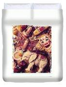 White Elephant Duvet Cover by Garry Gay