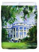 White House Duvet Cover