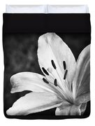 White Lilly  Duvet Cover