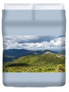 White Mountains New Hampshire Panorama Duvet Cover by Stephanie McDowell