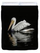 White Pelican De Duvet Cover