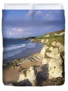 White Rocks Beach, Between Portrush & Duvet Cover