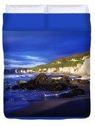 White Rocks Strand, County Antrim Duvet Cover