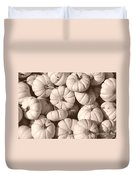 White Squash Duvet Cover