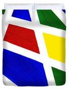 White Stripes 2 Duvet Cover