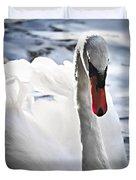 White Swan Duvet Cover