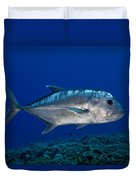 White Ulua Duvet Cover
