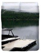 Whitefish Morning Duvet Cover