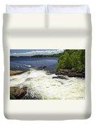 White's Falls Duvet Cover