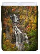 Whitewater Falls 1 Duvet Cover