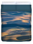 Whitman County Grain Silo Duvet Cover