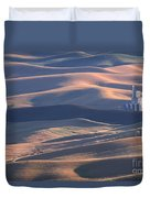Whitman County Granary At Sunset Duvet Cover