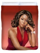 Whitney Houston Duvet Cover