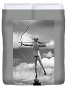 Who Needs Cupid 2 Monochrome Duvet Cover