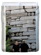 Widows At The Wall Duvet Cover