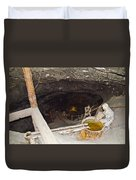 Wieliczka Salt Mine  Duvet Cover