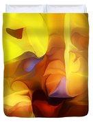 Wild About Saffron Duvet Cover
