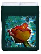 Wild And Crazy Rose Bud Duvet Cover