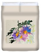 Wild Asters Duvet Cover