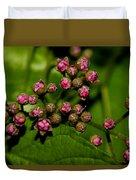 Wild Flower Blossoms 2 Duvet Cover