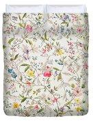 Wild Flowers Design For Silk Material Duvet Cover