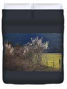 Wild Fruit Tree In The Country Duvet Cover
