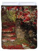 Wild Garden, Rowallane Garden, Co Down Duvet Cover