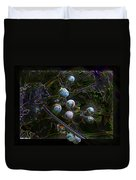Wild Grapes Abstracted Duvet Cover
