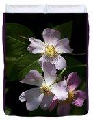 Wild Pink Rambling Rose Duvet Cover