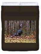 Wild Tom Turkey Duvet Cover