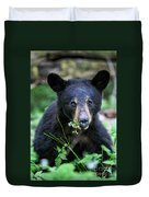 Wildflower Bear Duvet Cover