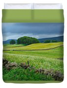 Wildflower Meadow Near Hawes Duvet Cover