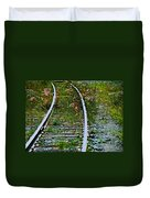 Wildflower Railroad Duvet Cover