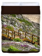 Wildflower Steps Duvet Cover