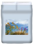 Wildflower Weed Duvet Cover