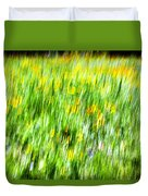 Wildflowers And Wind Duvet Cover