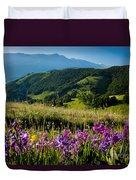 Wildflowers Umbria Duvet Cover