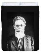 Wilhelm Roentgen, German Physicist Duvet Cover