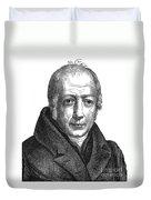 Wilhelm Von Humboldt Duvet Cover