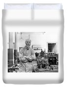 Willem Einthoven, Dutch Physiologist Duvet Cover