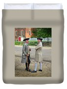 Williamsburg Colonists Duvet Cover